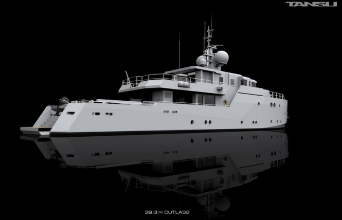Luxury motor yacht Project Cutlass