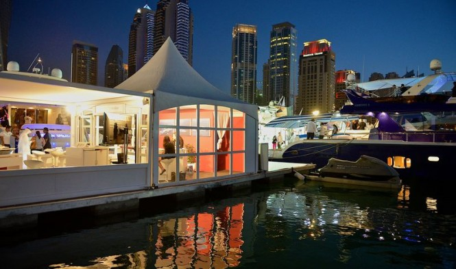 SYBAss Pavilion at the Dubai Boat Show
