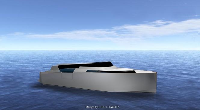 33 Limousine Hybrid superyacht tender