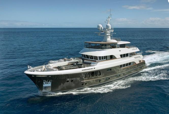 39m explorer yacht CaryAli by Alloy Yachts