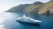 72,5m mega yacht Axioma (ex Red Square) by Dunya Yachts