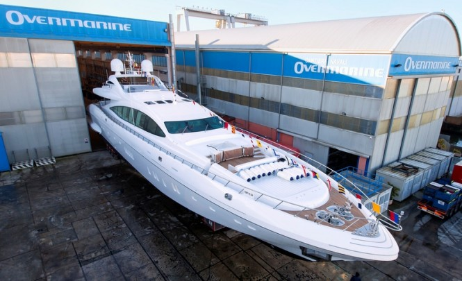 8th superyacht Mangusta 165 R by Overmarine Group