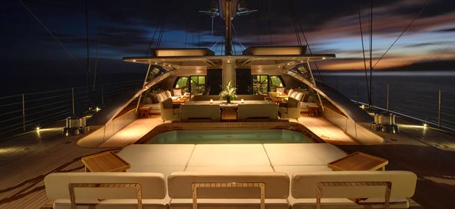 Aboard VERTIGO Yacht