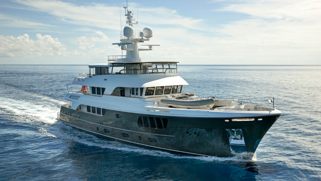Alloy superyacht CaryAli