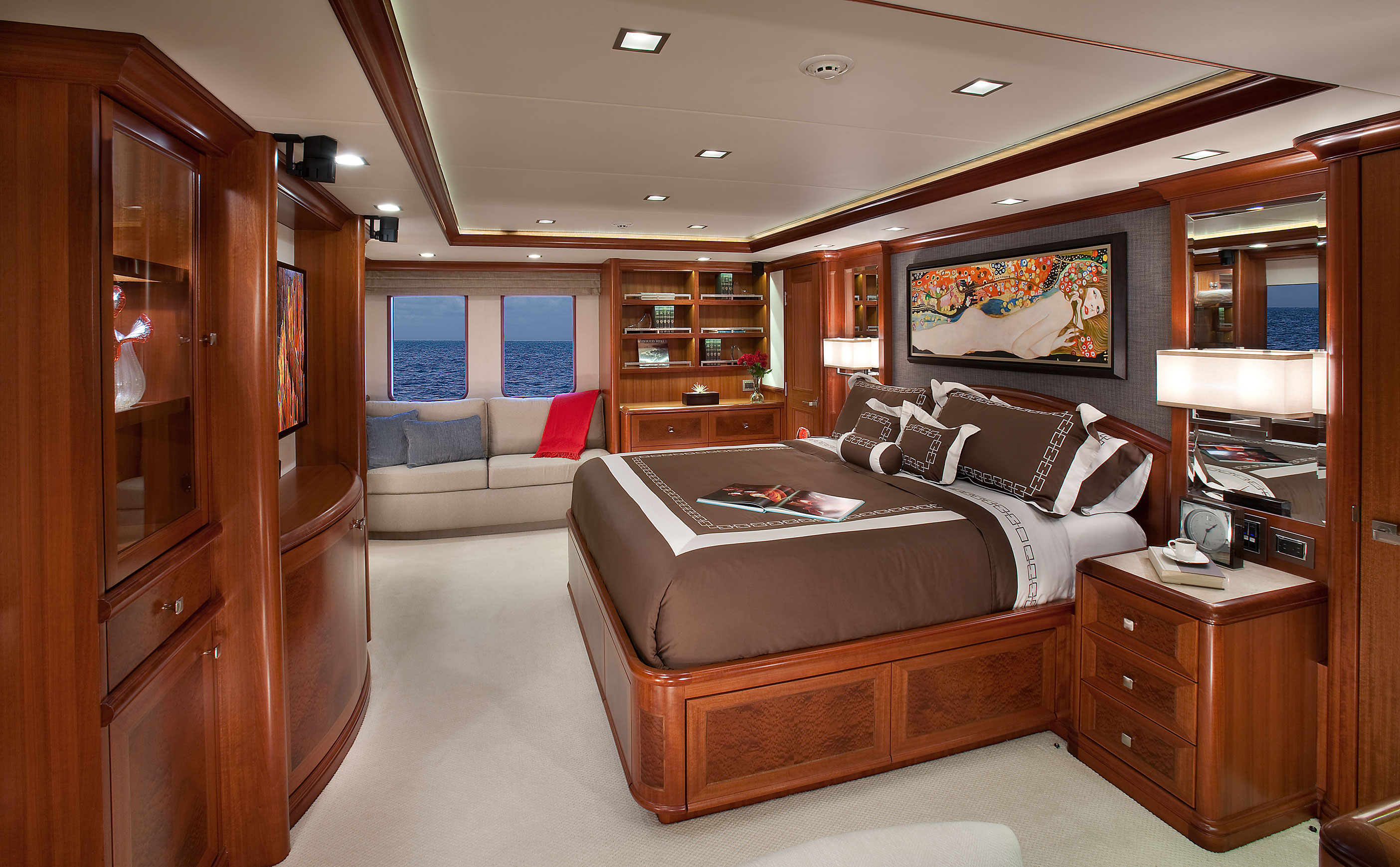 Aurora Yacht Owners Suite Yacht Charter Superyacht News