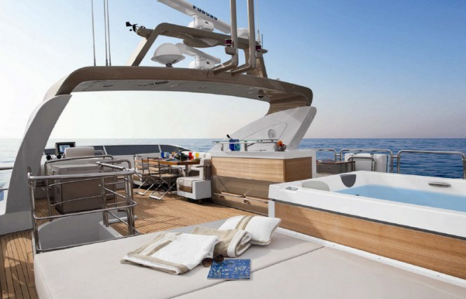 Azimut Grande 120SL Yacht Hull no. 3 - Exterior