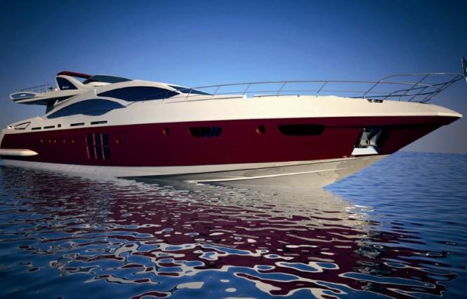 Azimut Grande 120SL luxury yacht Hull no. 3