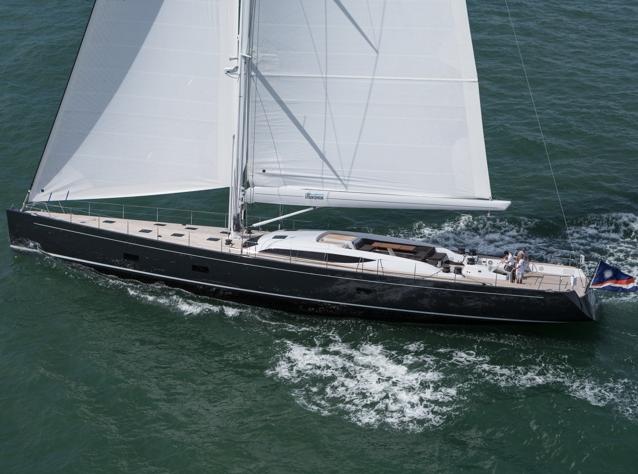 Baltic 107 Super Yacht INUKSHUK