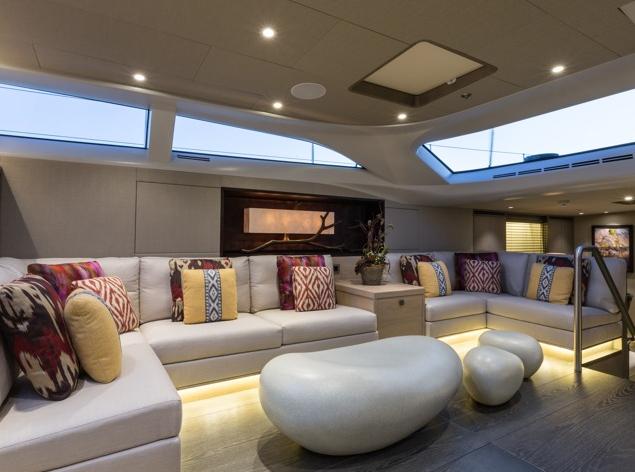Baltic Yachts INUKSHUK superyacht - Salon