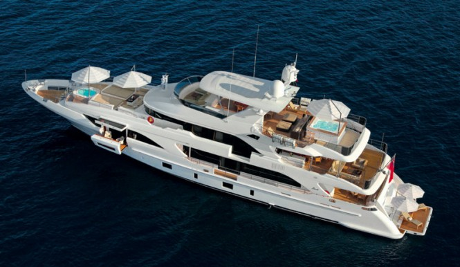 Benetti Classic Supreme 132 Yacht PETRUS II - Photo credit to Thierry Ameller