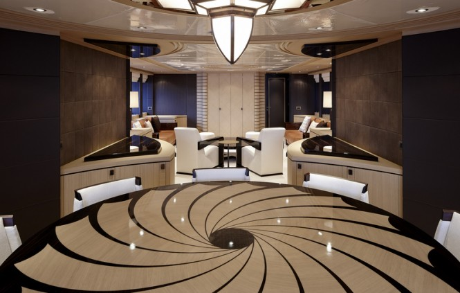 Galatea Yacht - Interior