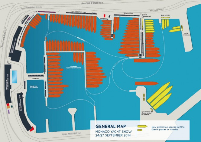 General layout - New exhibition