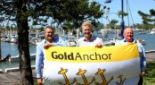 Gladstone Marina - Gold Anchor Flag