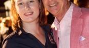 Justyna Wajler with Superyacht Australia Chiarman - Barry Jenkins