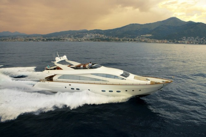 Luxury motor yacht Amer 92 by Permare