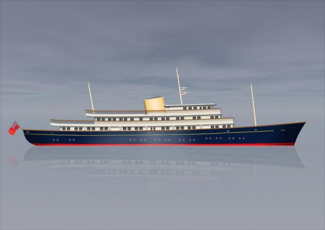 Luxury Motor Yacht PROJECT NELSON