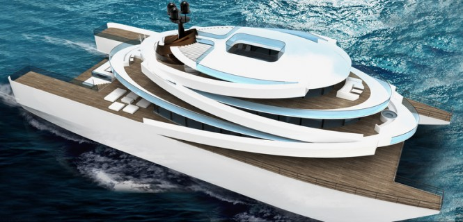 Luxury motor yacht Project Symphony by Raphael Laloux