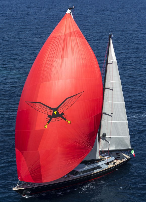 Luxury superyacht Seahawk by Perini Navi - Photo by Studio Borlenghi/Stefano Gattini