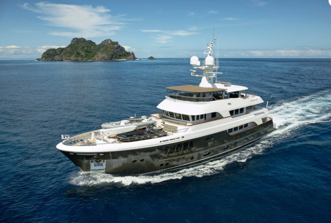 Luxury yacht CaryAli
