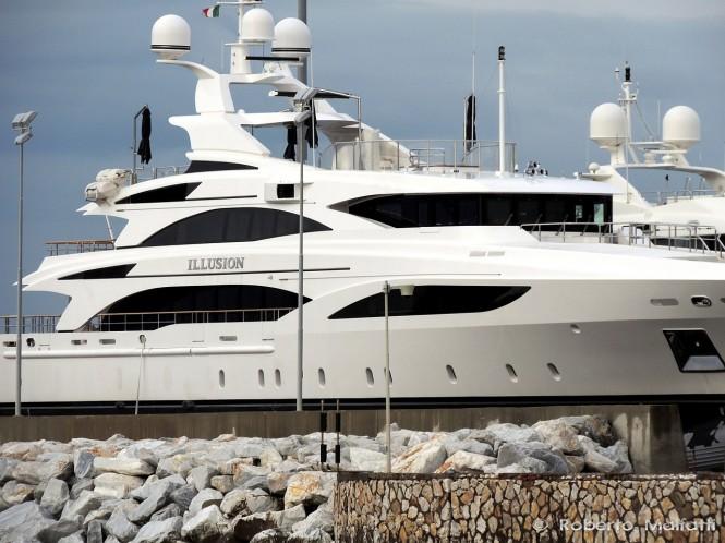 Luxury yacht ILLUSION - Photo Roberto Malfatti