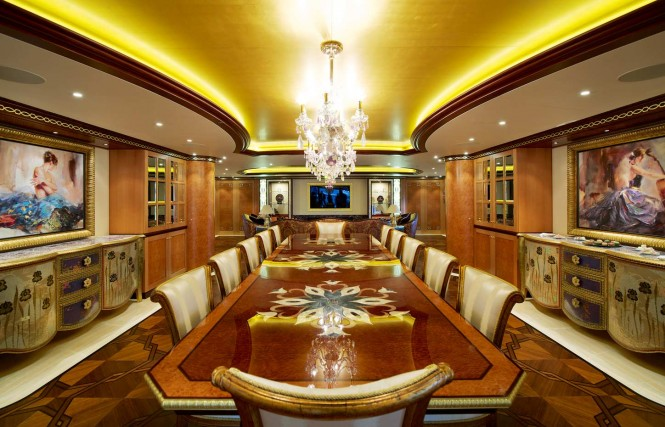 Luxury yacht SOLANDGE - Dining