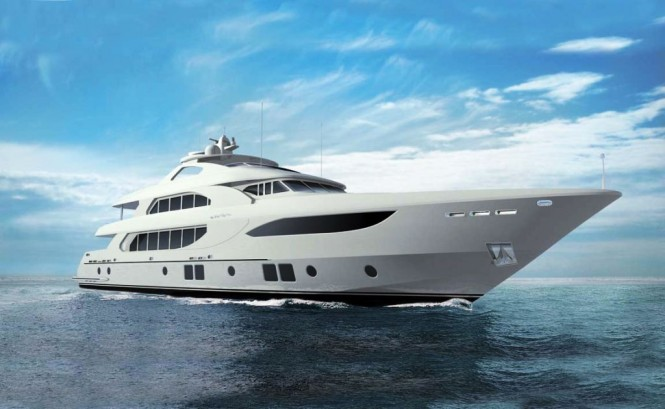 Majesty 135 Superyacht