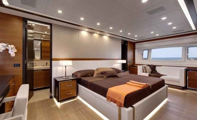 Mangusta 110 Yacht - Cabin
