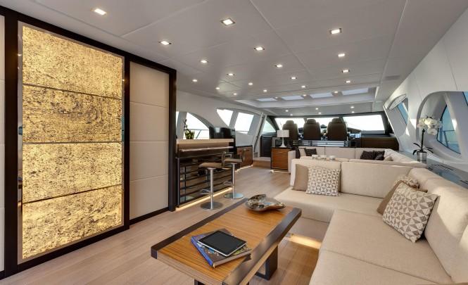 Mangusta 110 superyacht - Interior