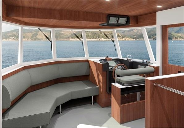 Motor yacht Project YXT One - Wheelhouse