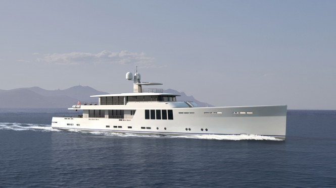 New 164' Explorer Yacht by JFA Yachts