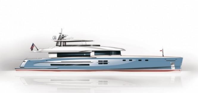 New American 112 RPH superyacht