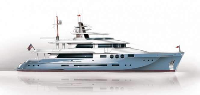 New American 125 Explorer yacht