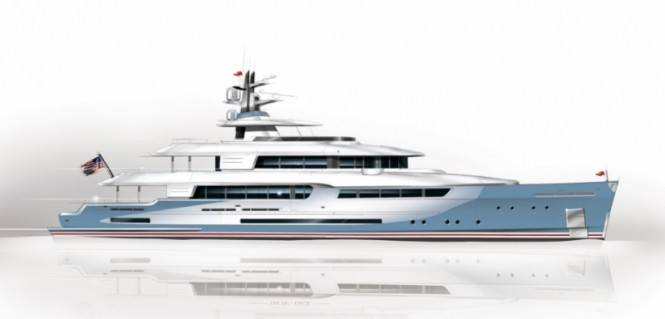 New American 132 Tri-Deck superyacht