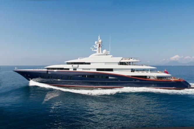 Oceanco Yacht NIRVANA -  Profile