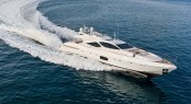 Overmarine superyacht Mangusta 110 fitted with Seakeeper M26000 gyro stabilizer