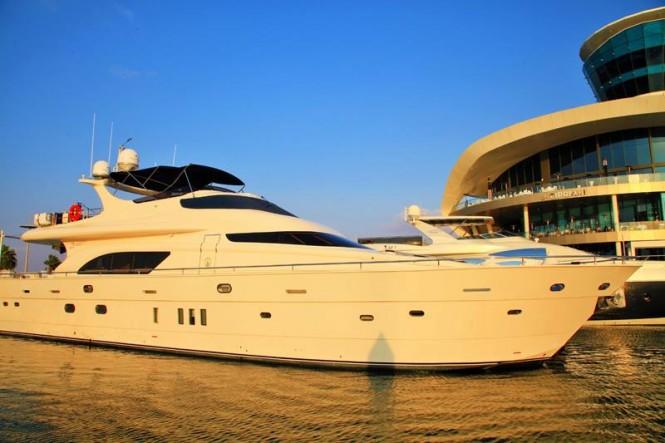 SAFWA 1 yacht