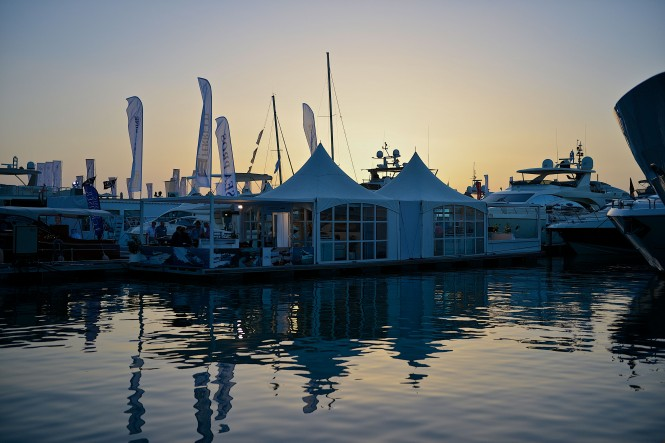 SYBAss Pavilion at the Dubai International Boat Show