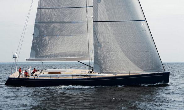 Sailing yacht Swan 80FD by Nautor's Swan