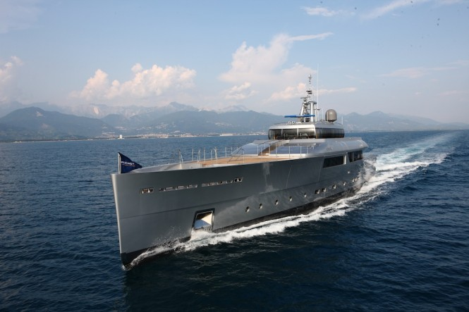 Stunning Super Yacht Exuma -  photo courtesy of Perini Navi