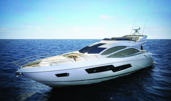 Sunseeker 80 Sport Yacht to be displayed during the event