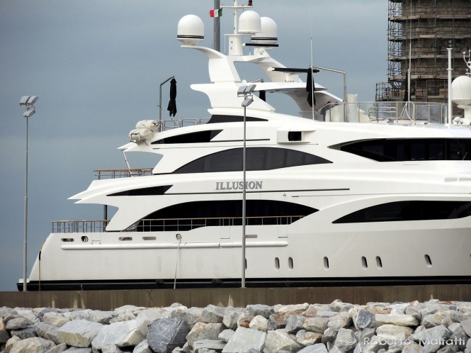 Superyacht ILLUSION - Photo Roberto Malfatti