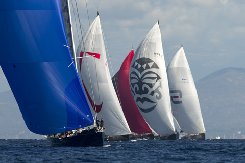 Les Voiles de Saint-Tropez 2013 - Day 1 - Wally Yachts and J Class