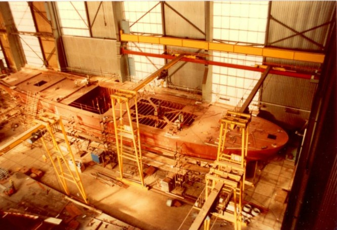 Works on Cleopatra C Yacht