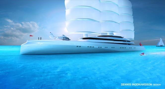 120m superyacht Mariya concept