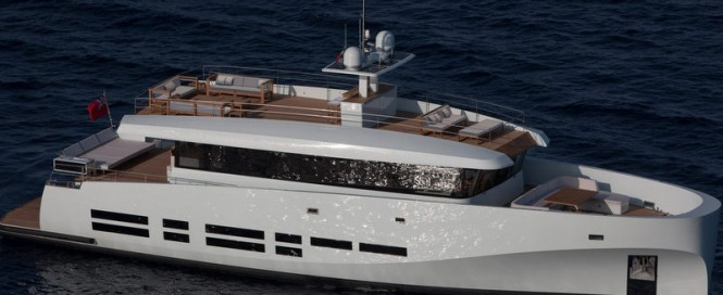 26m superyacht WallyAce - Image credit to Wally Yachts