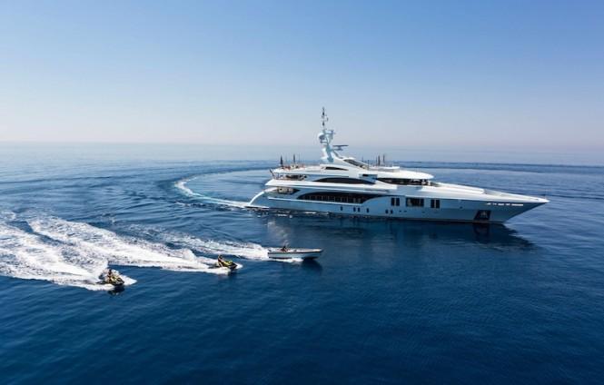 55m motor yacht Ocean Paradise by Benetti