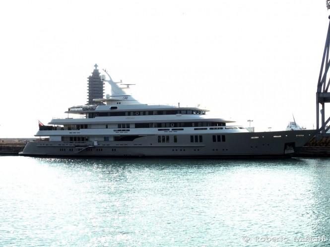 76m Luxury Superyacht REBORN - Photo by Roberto Malfatti