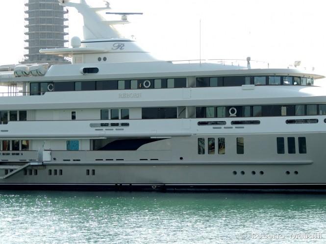 76m REBORN Yacht by Amels - Photo by Roberto Malfatti