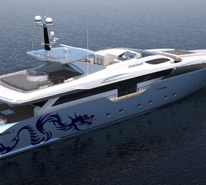 Admiral Yachts working on construction of 45m motor yacht FLYING DRAGON (ex Capri)