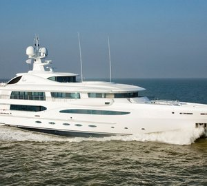Third Limited Edition 212 motor yacht 'Z' (hull 6503) launched by Amels